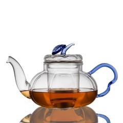 """Стеклянный заварочный чайник """"Лист"""" 650 мл"""