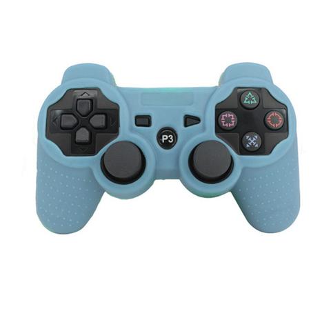 Чехол для беспроводного контроллера DualShock 3 (Светло синий)