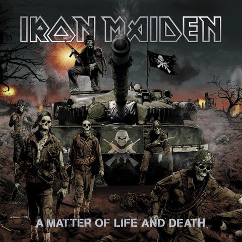 Виниловая пластинка. Iron Maiden — A Matter of Life and Death