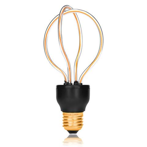 Лампа светодиодная E27 8W 2200К прозрачная 057-240