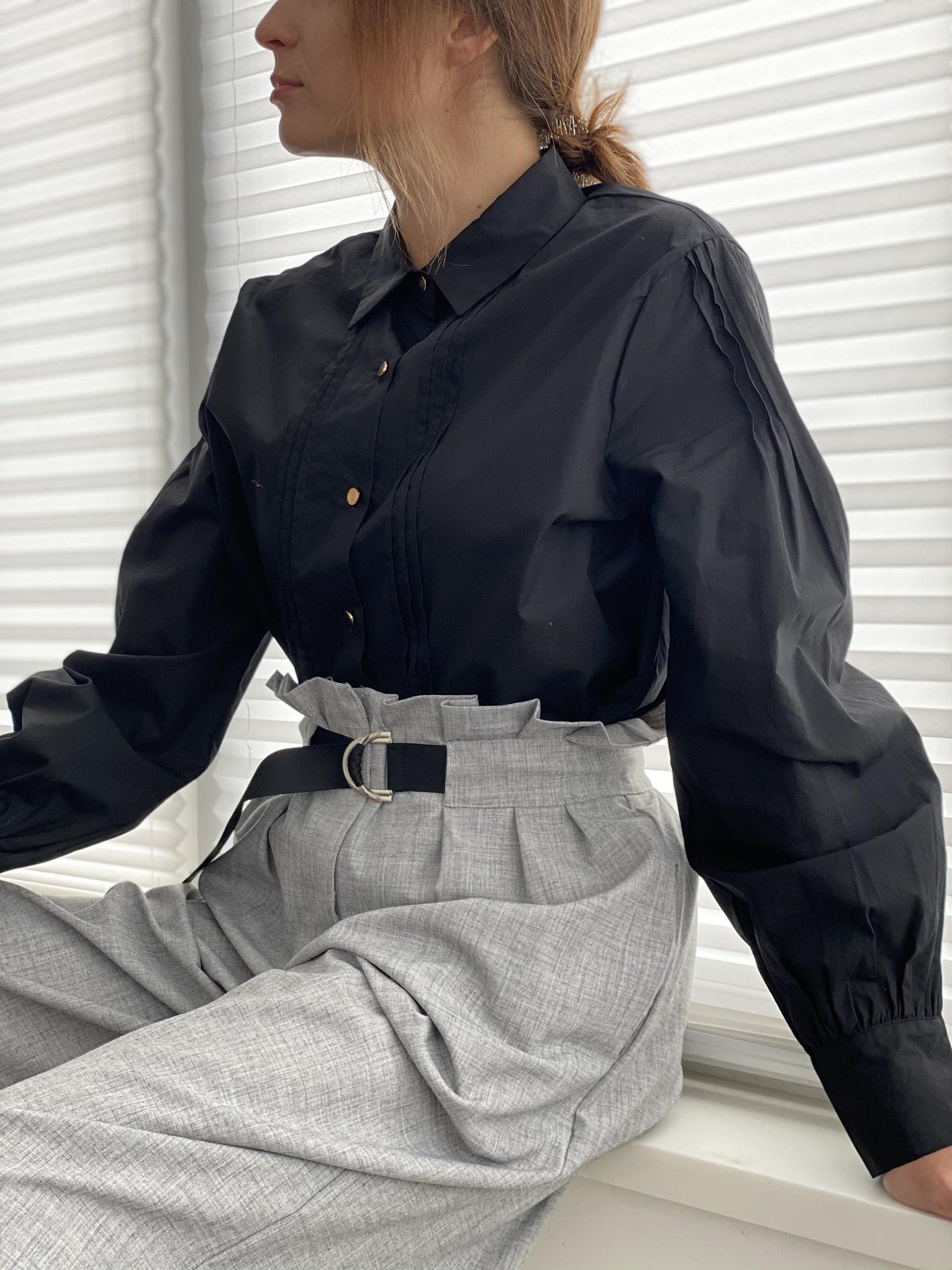 Рубашка, Ballerina, AG1415 (черный)