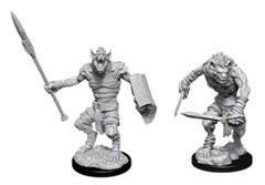 D&D Nolzur's Marvelous Miniatures - Gnoll & Gnoll Flesh Gnawer