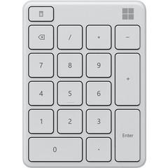 Блок клавиатуры Microsoft Wireless Bluetooth Number Pad, белый