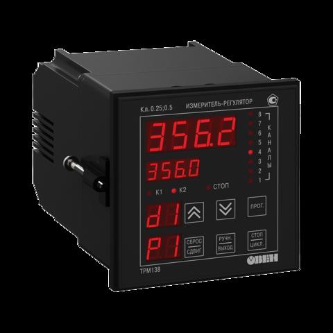 Измеритель-регулятор универсальный восьмиканальный ТРМ138-ИИИИРРРР.Щ7 Овен