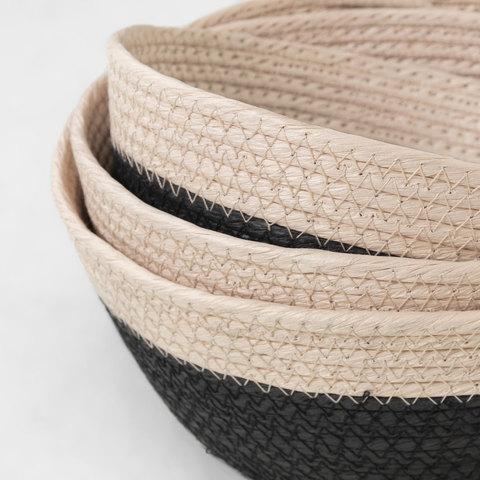 Комплект Kuomi 3 корзины черный цвет