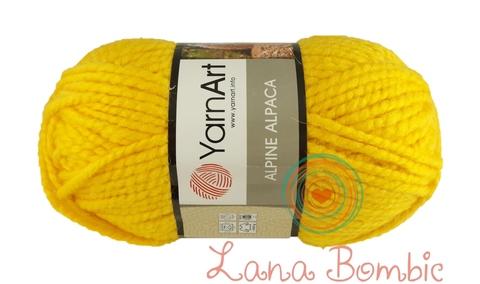 Пряжа YarnArt Alpine Alpaca 444 желток