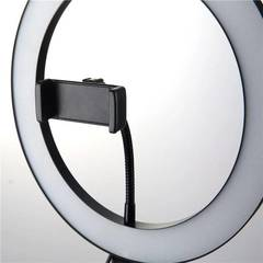 кольцевой светодиодный осветитель led-светильник ring fill light 26 см со штативом