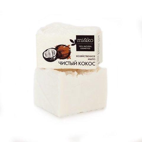 Хозяйственное мыло Чистый кокос | mi&ko