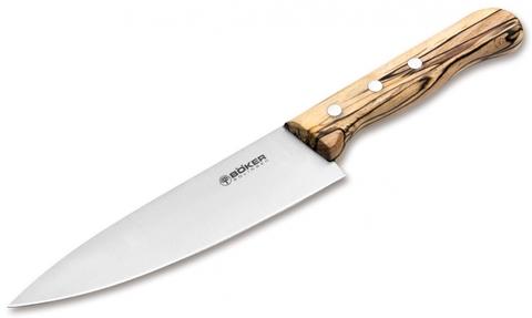 Кухонный нож SOLINGEN 131201 Tenera Chef's Medium Ice Beech