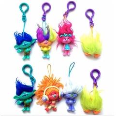 Брелоки игрушки Тролли — Keychains Movie Trolls Toys