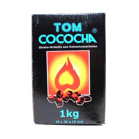 Уголь Tom Cococha Blue 1 кг в индивидуальной упаковке