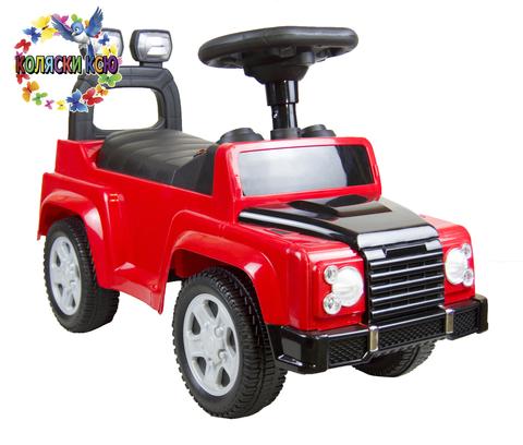 Краткое описание каталки Land Rover (красный)