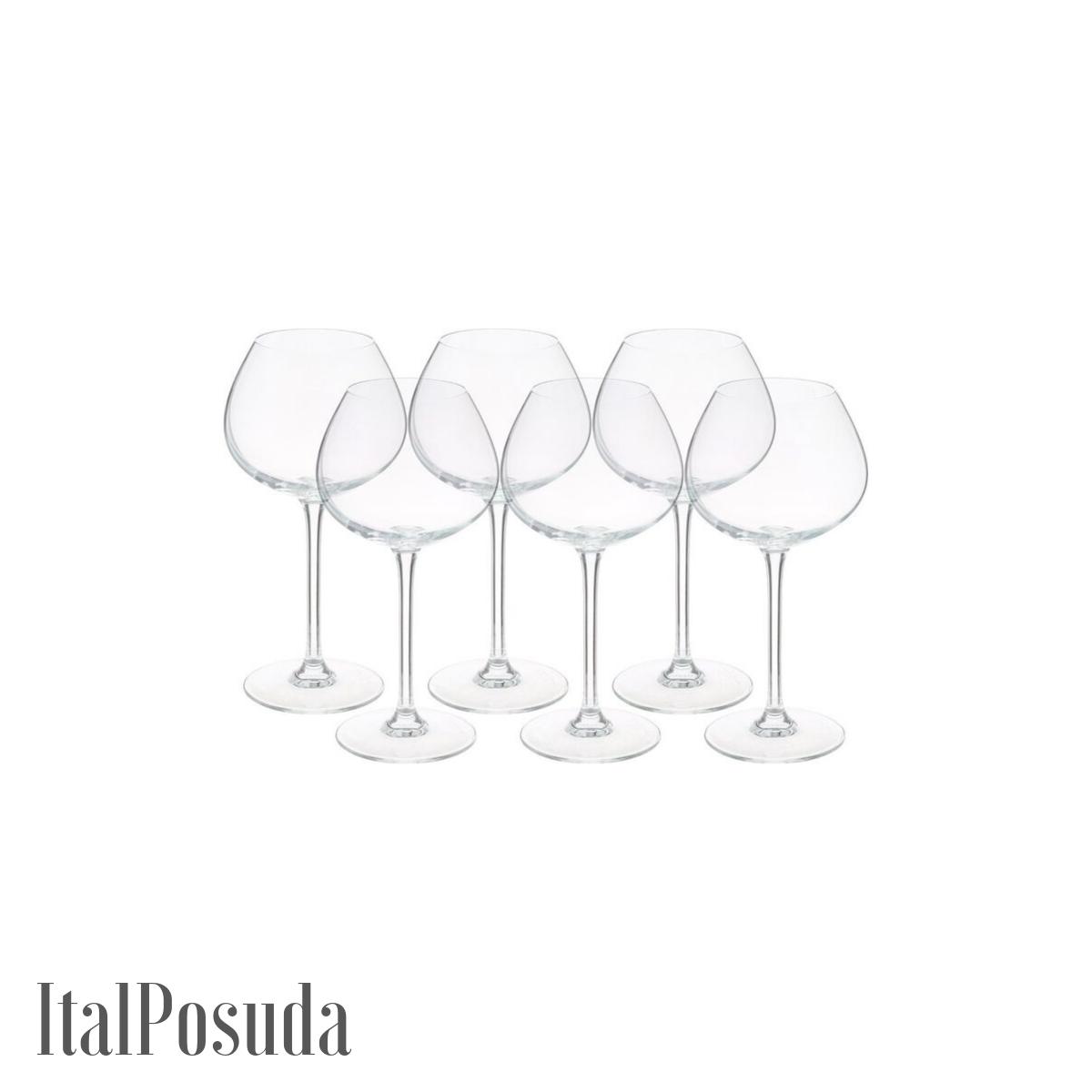 Набор бокалов Eclat Cristal d'Arques Wine Emotions Balloon (Вайн Эмоушенс баллон), 6 шт L7589