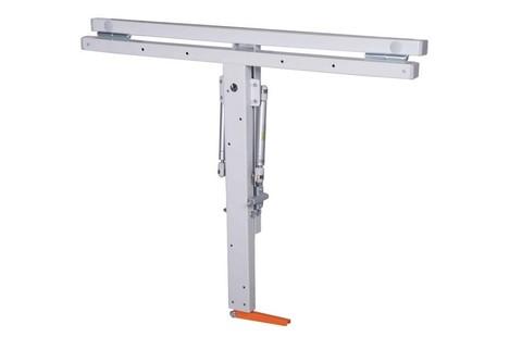 Откидной стол для кухни 800 мм (ширина), 600 мм (глубина). Столешница ЛДСП. Т-обр механизм.