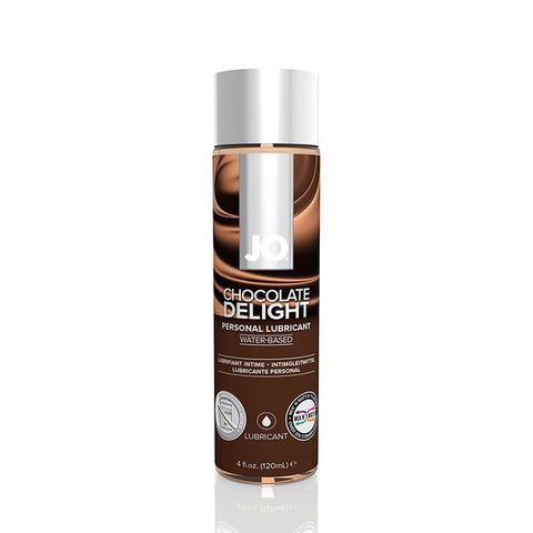 JO H2O Flavored Chocolate Delight, 120 ml Ароматизированный лубрикант Шоколад на водной основе