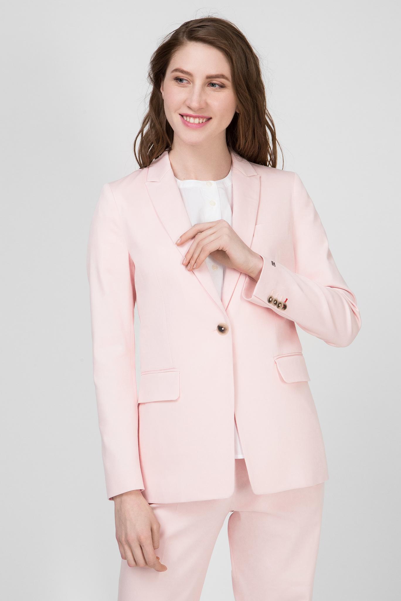 Женский розовый жакет COTTON PASTEL Tommy Hilfiger