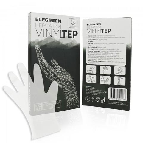Перчатки VINILTEP (Винил+Полиэтилен). Прозрачные. 50 пар.