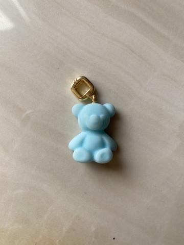 Подвеска Тедди, голубая