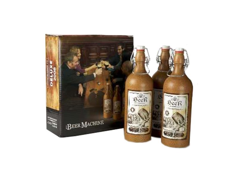 Бокалы, бутылки, DVD Пивоварня.ру Набор из трех керамических бутылок 118_P_1337110338478.jpg