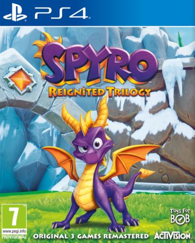 Spyro Reignited Trilogy (PS4, английская версия)