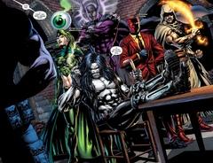DC. Rebirth. Лига Справедливости против Отряда Самоубийц
