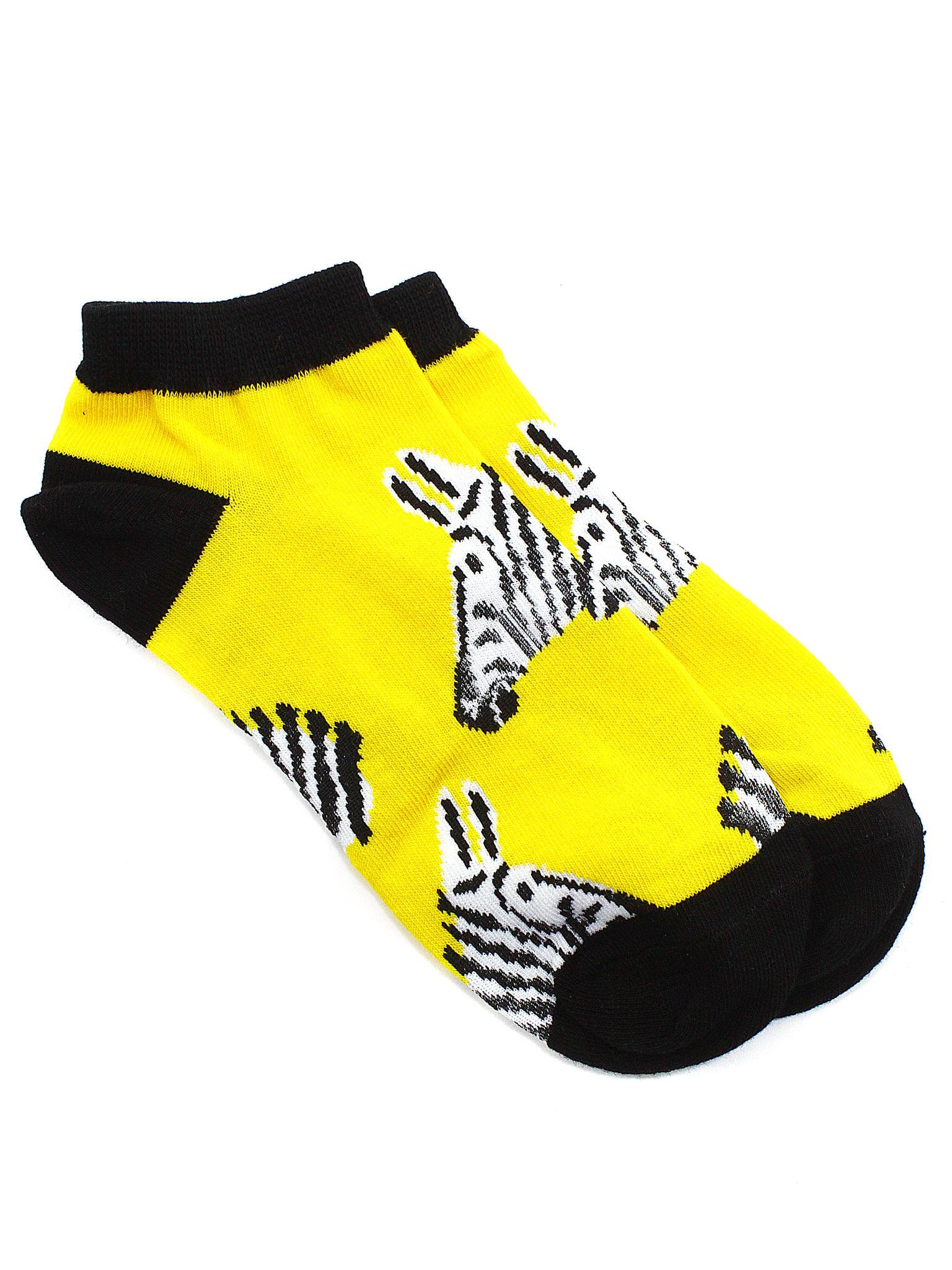Короткие носки Зебры