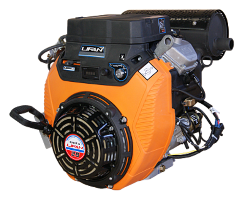 Двигатель LIFAN 2V80F-2A  29 л.с. катушка 20А, электростартер