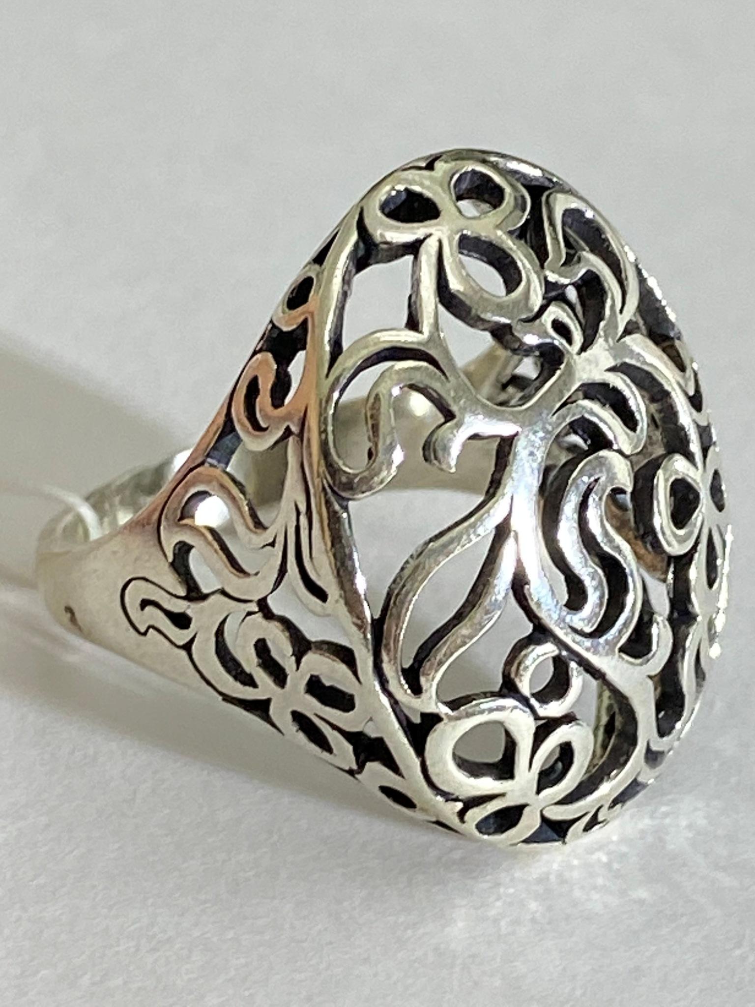 Гурзуф (кольцо из серебра)
