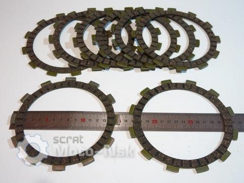 диски сцепления 8шт Suzuki GSF600 Bandit 600 1995-2004