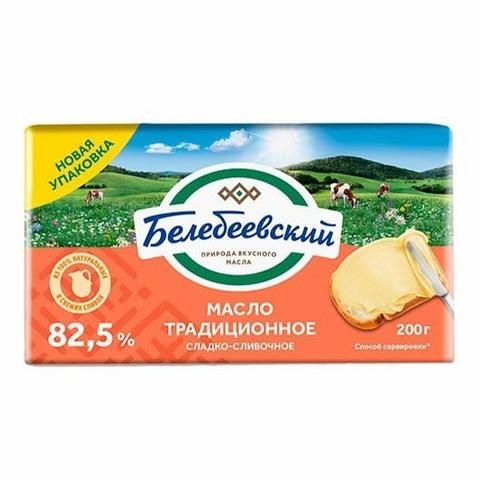 Масло Белебеевское традиционное 82,5% 170г