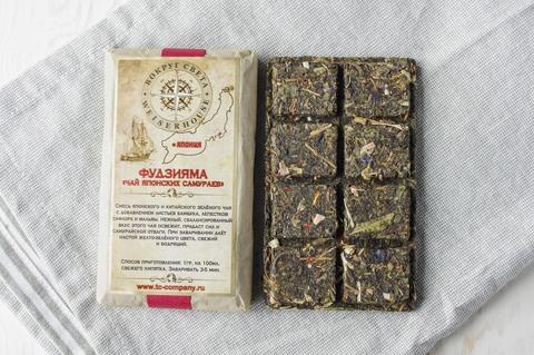 прессованный чай Фудзияма «Чай японских самураев»