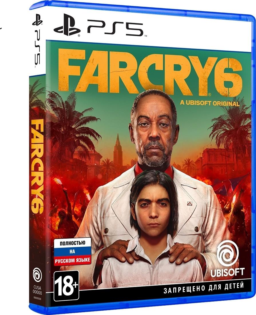 Far Cry 6 для PS5 купить в Sony Centre Воронеж