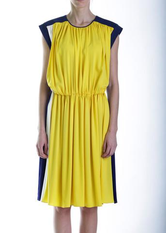 Платье из шелка VIONNET