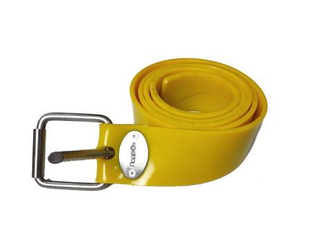 Ремень силиконовый марсельский жёлтый