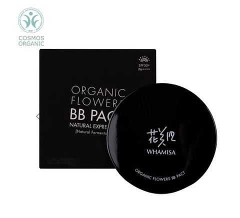 Organic Flowers BB Pact Natural Expression (Natural Fermentation) SPF50+/PA++++