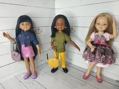 Шарнирные кукольные тела 32 см (в наличии три скинтона) на куколок формата Paola Reina подружки