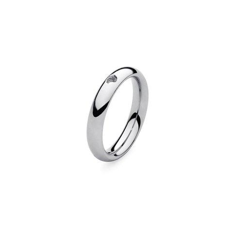 Кольцо - база Basic small silver 15.4 мм 627061 S