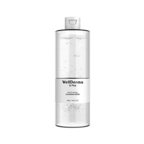 Жидкость для снятия макияжа WELLDERMA G Plus Moisturizing Cleansing Water, 100 мл