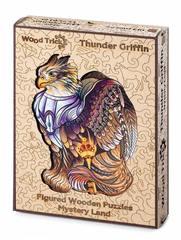 Громовой Грифон от Wood Trick - сборные пазлы причудливой формы, это картины, которые вы собираете сами
