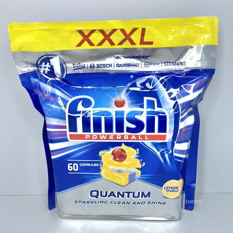 Таблетки для посудомоечной машины Finish Quantum (60 шт.)