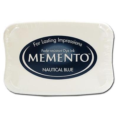 Штемпельная подушечка MEMENTO - NAUTICAL BLUE