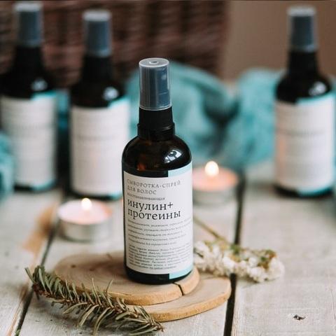 Сыворотка-спрей для волос Инулин и Протеины | Краснополянская Косметика