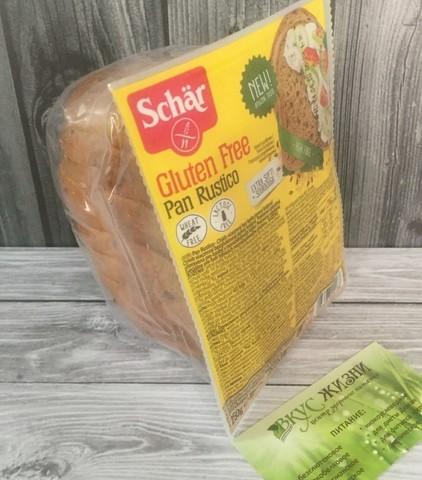Хлеб злаковый (Pan Rustico)  250г б/глютена б/лактозы Schar