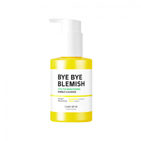 Some By Mi Bye Bye Blemish Vita Tox Brightening Bubble Cleanser осветляющее кислородное средство