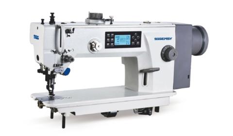 Одноигольная швейная машина челночного стежка с автоматическими функциями Gemsy GEM 0312 E3-AK | Soliy.com.ua