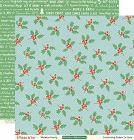 Лист двухсторонней бумаги 30*30см Under the Tree by October Afternoon