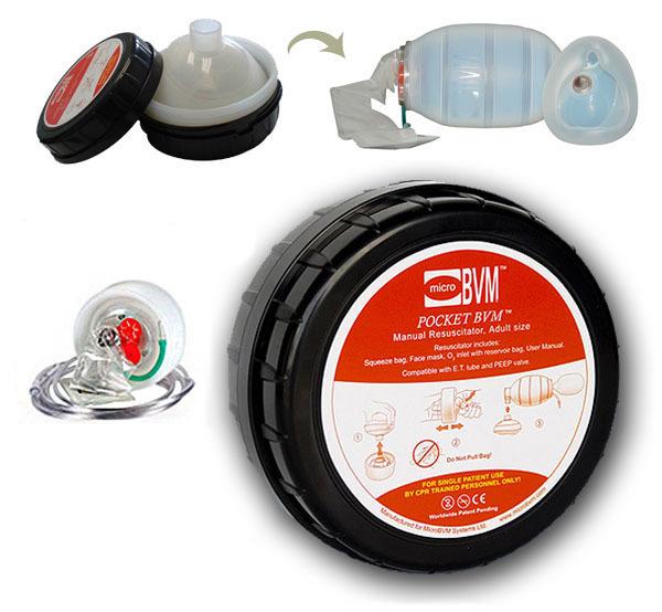 Мешок АМБУ Micro Pocket BVM (помпа для искусственной вентиляции легких)