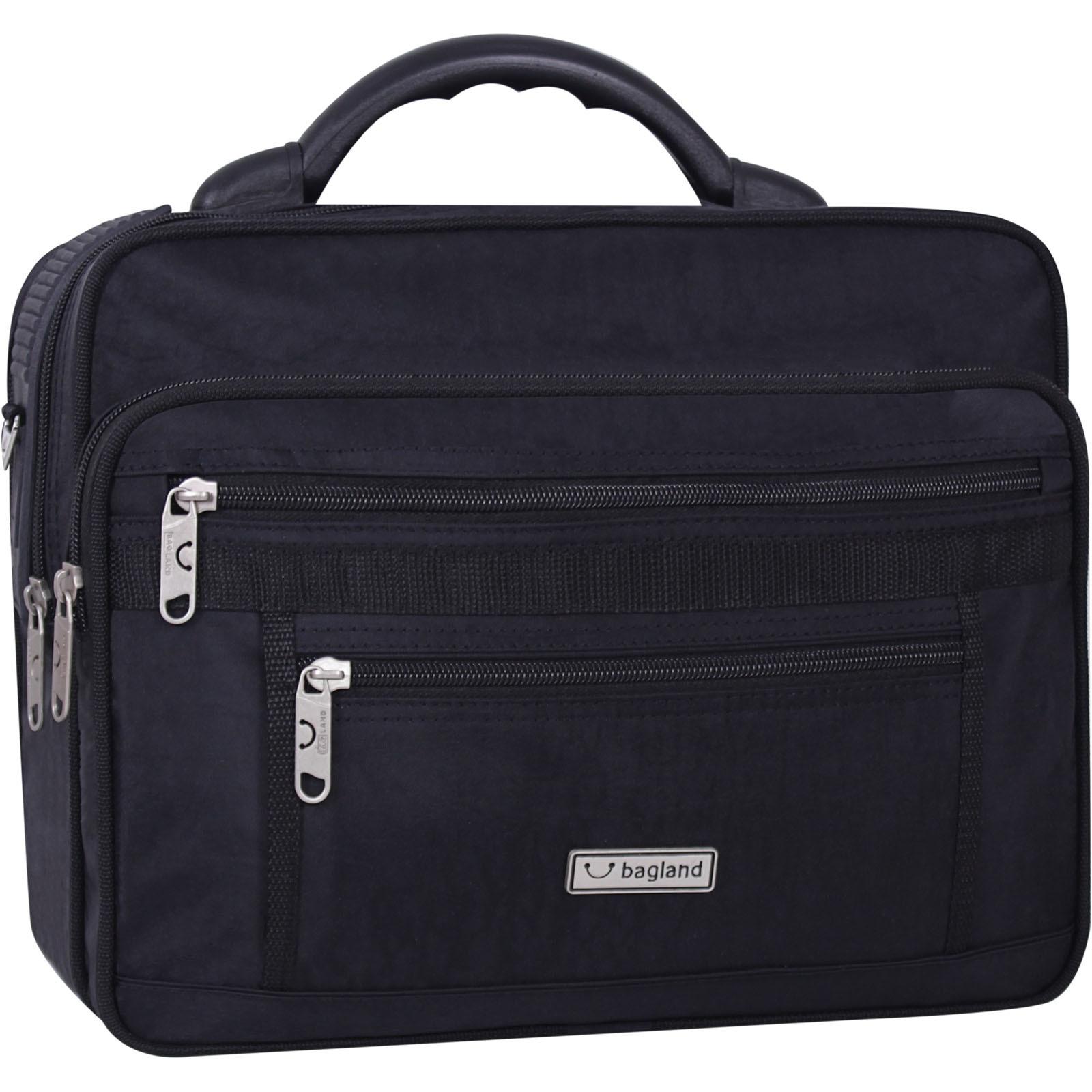 Мужская сумка Bagland Mr.Cool 15 л. Чёрный (0025170) фото 1