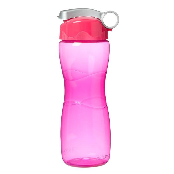 """Бутылка для воды Sistema """"Hydrate"""" 645 мл, цвет Розовый"""