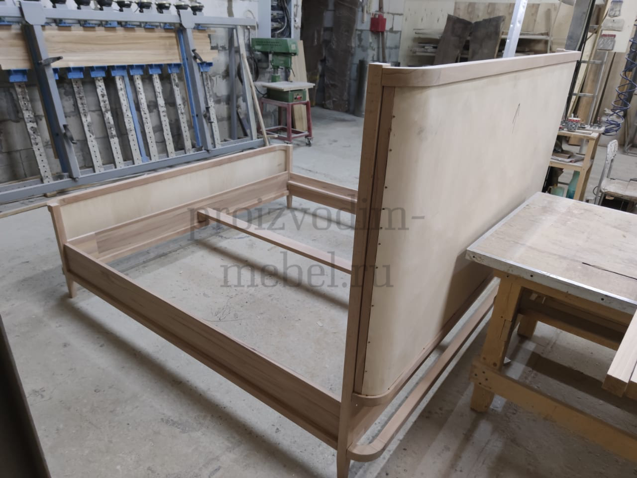 Двуспальная кровать LuXeo Kensington
